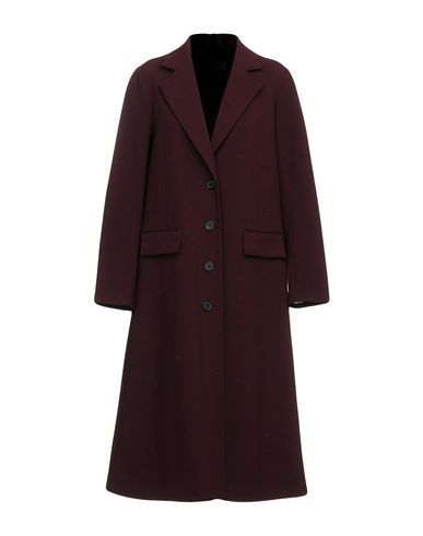 YUNE HO Coats in Maroon