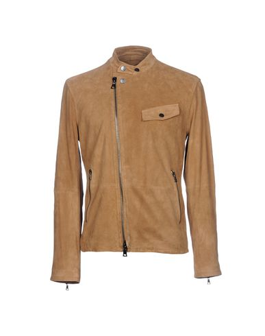 76e2d1b22 JOHN VARVATOS Leather jacket - Coats & Jackets | YOOX.COM