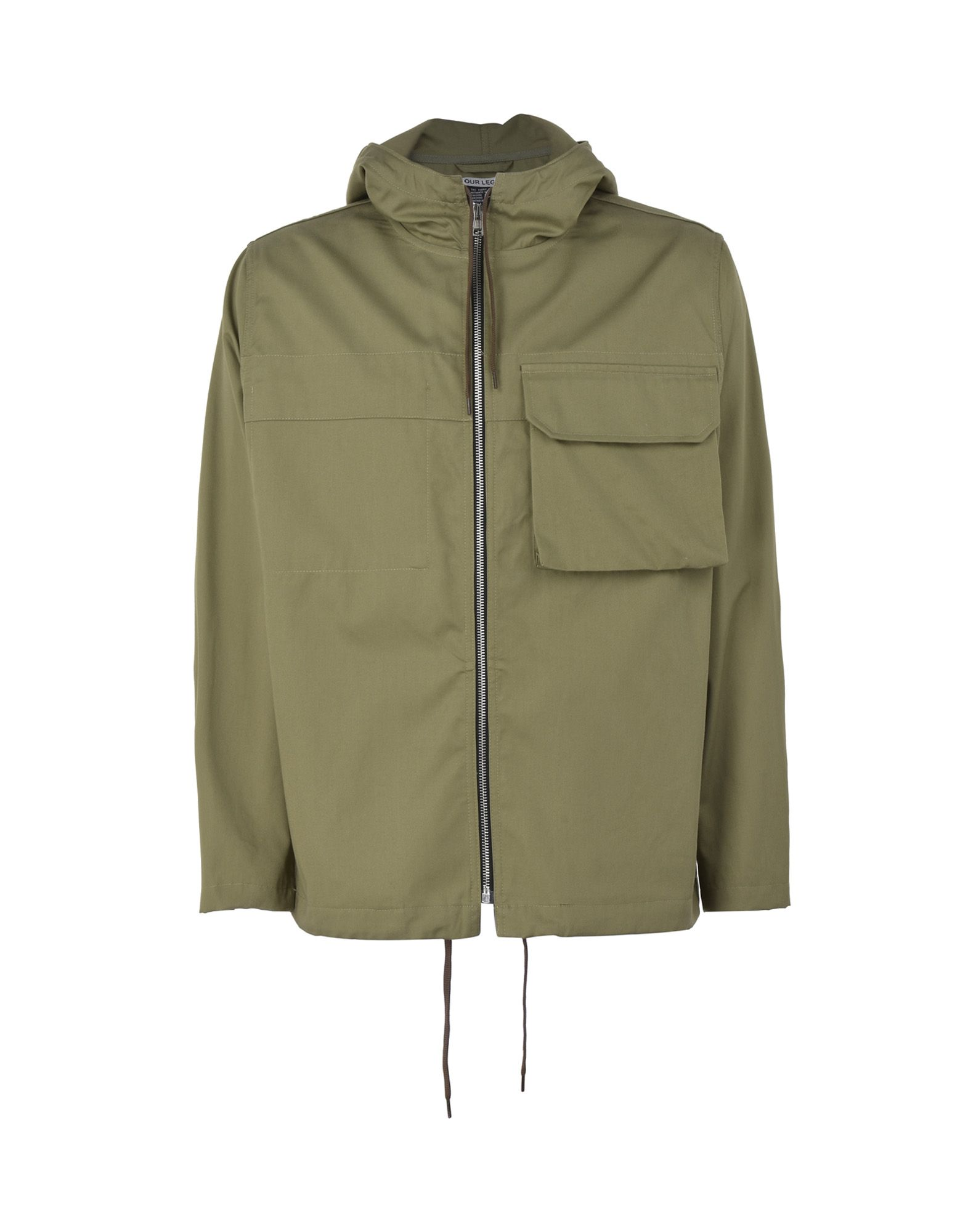 Soprabito Our Legacy Our Legacy Lizard Parka Olive Tactic Twill - Uomo - Acquista online su