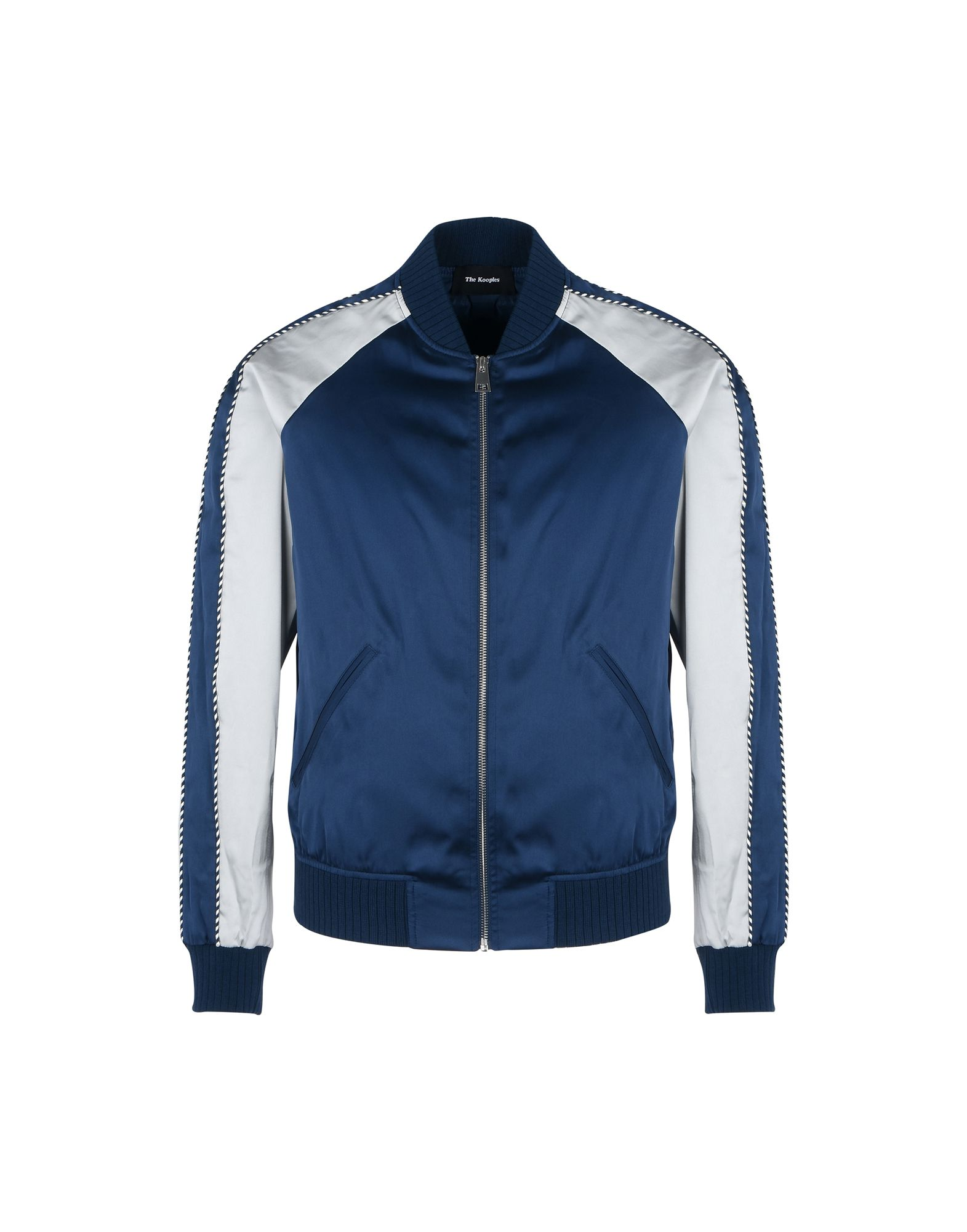 Bomber The Kooples Satin Effect Jacket - Uomo - Acquista online su