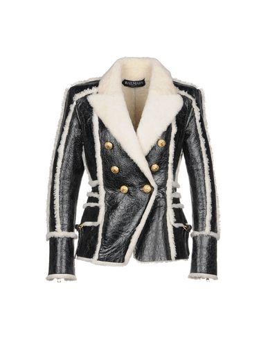 Balmain Double Breasted Pea Coat   Coats & Jackets D by Balmain