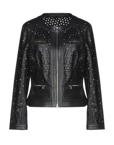 DIEGO M Biker Jacket in Black