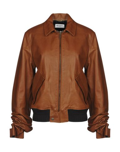 SAINT LAURENT - Leather jacket
