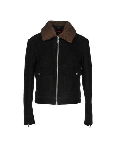 Dondup Leather Jacket   Coats & Jackets by Dondup