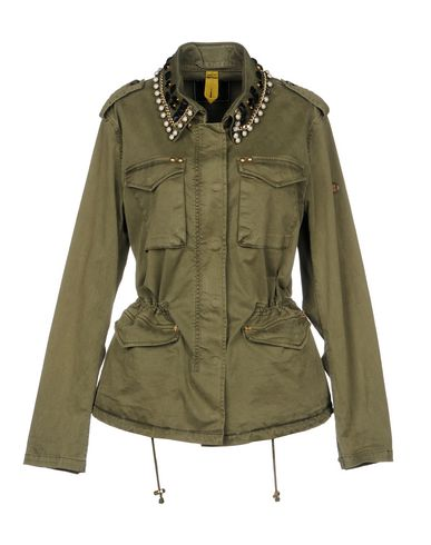 BLONDE NO.8 Jacket in Military Green