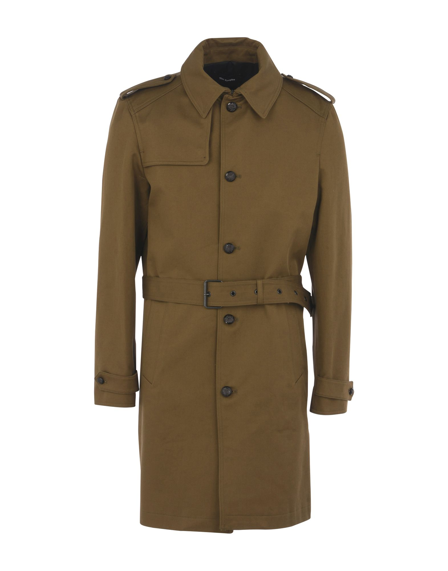 Cappotto The Kooples Trench Coat With Officer Buttons - Donna - Acquista online su