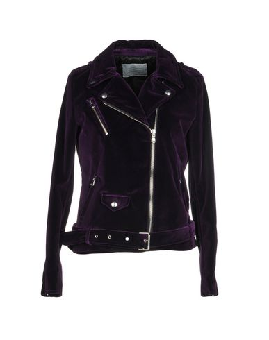 los angeles 26e13 92772 ROUTE DES GARDEN Biker jacket - Coats & Jackets | YOOX.COM