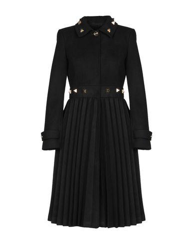 CLASS ROBERTO CAVALLI Coat in Black