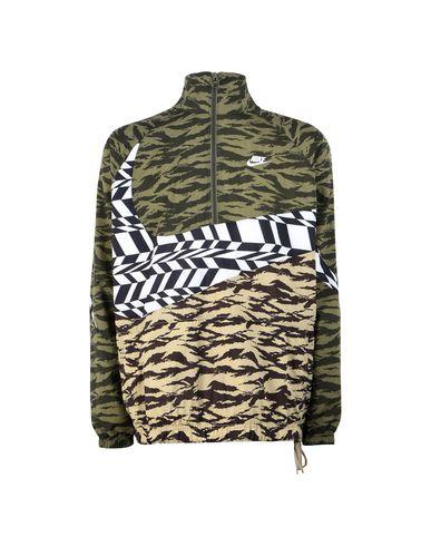 Woven Blousons Zip Blouson Nike Half Swoosh Homme Jacket qWaOE