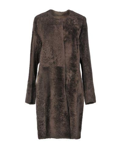 UTZON Coat in Dark Brown