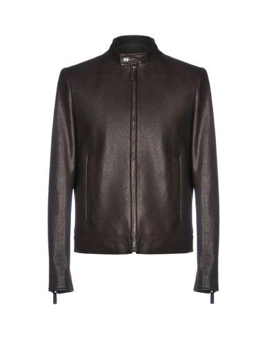 2846ba46d123 Prada Leather Jacket - Men Prada Leather Jackets online on YOOX ...