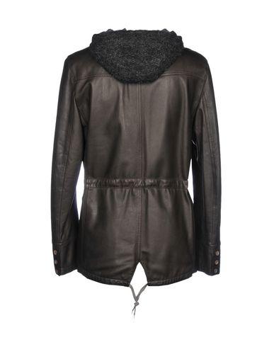 Delan Leather Jacket - Men Delan Leather Jackets online Men Clothing 02TJ0Bs2 60%OFF