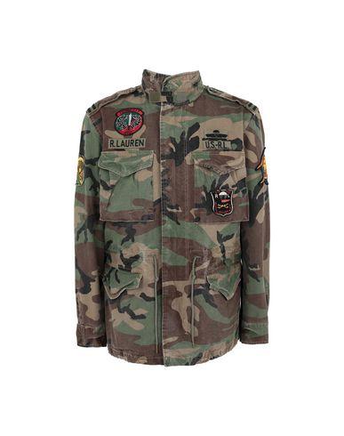 Polo Ralph Lauren Camo Field Jacket - Jacket - Men Polo Ralph Lauren ... 1bfba41aead
