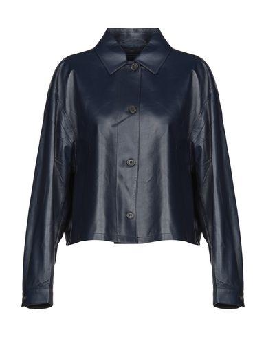 10efa248 PRADA Leather jacket - Coats & Jackets | YOOX.COM