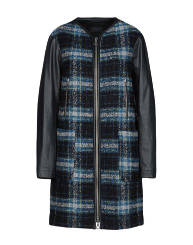 TWIN-SET JEANS Coat in Blue