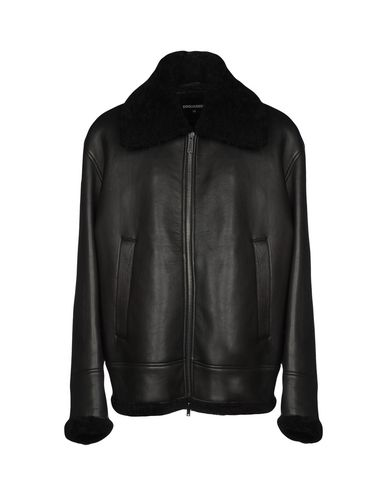 df4e9e463ae Dsquared2 Leather Jacket - Men Dsquared2 Leather Jackets online on ...