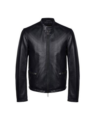 12053e155706 Emporio Armani Leather Jacket - Men Emporio Armani Leather Jackets ...
