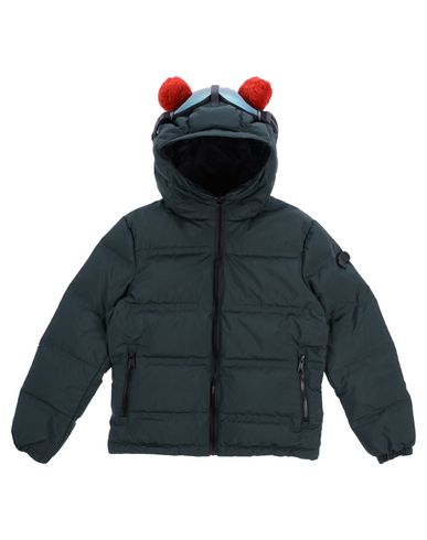 AI RIDERS ON THE STORM Down Jacket in Dark Green