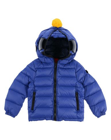 AI RIDERS ON THE STORM Down Jacket in Blue