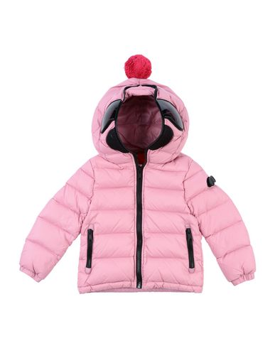 AI RIDERS ON THE STORM Down Jacket in Pink