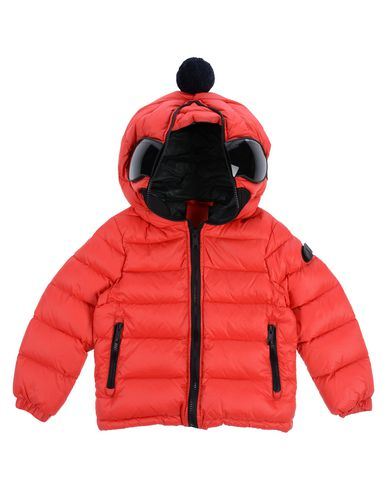 AI RIDERS ON THE STORM Down Jacket in Red