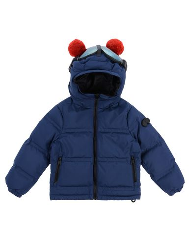 AI RIDERS ON THE STORM Down Jacket in Dark Blue