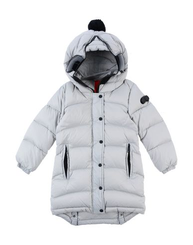 AI RIDERS ON THE STORM Down Jacket in Light Grey