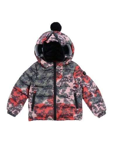 AI RIDERS ON THE STORM Down Jacket in Military Green