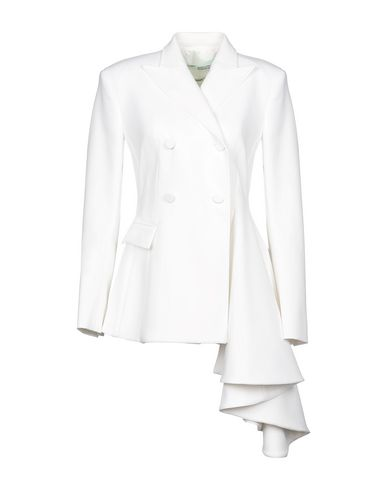 Off-White™ Double Breasted Pea Coat - Women Off-White™ Double ... 923ca4cc17