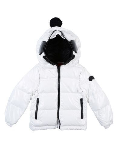AI RIDERS ON THE STORM Down Jacket in White