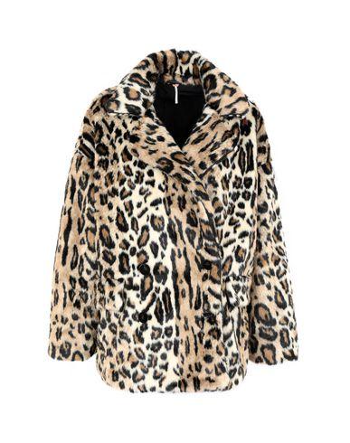 42175a357511 Free People Kate Leopard Coat - Faux Fur - Women Free People Faux ...