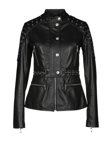 JUST CAVALLI - Leather jacket
