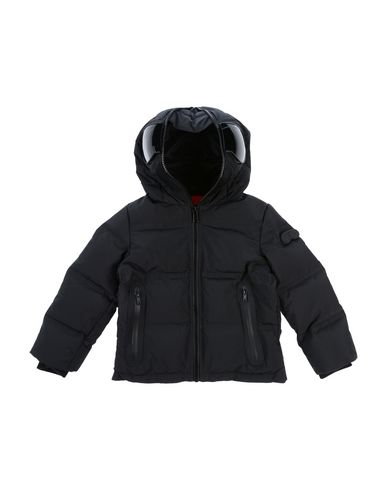 AI RIDERS ON THE STORM Down Jacket in Black