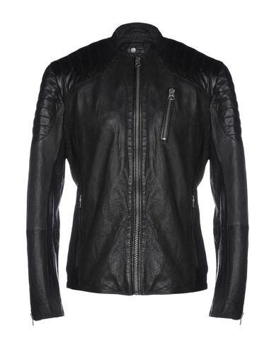 new style 9aeeb 780c3 PEPE JEANS Biker jacket - Coats and Jackets | YOOX.COM