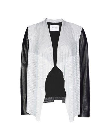VIONNET Leather Jacket in Black