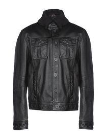 promo code 38a40 1f9bb Armani Jeans Giubbotti Pelle - Armani Jeans Uomo - YOOX