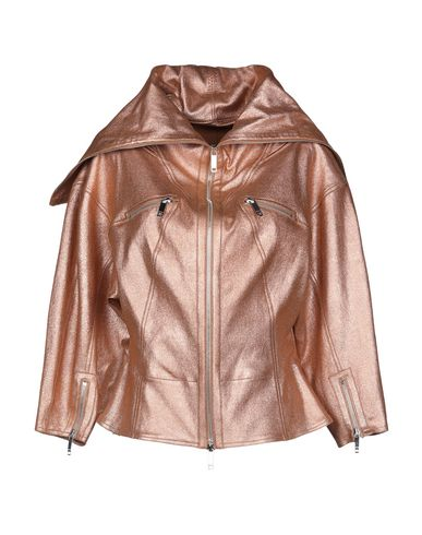 JITROIS Leather Jacket in Copper