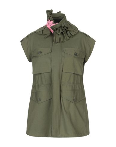 Blouson Rain In Vert Militaire The Tiger U1A0ZFq1a