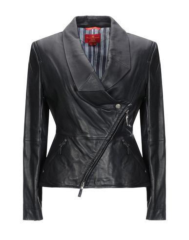 VIVIENNE WESTWOOD RED LABEL Biker Jacket in Black