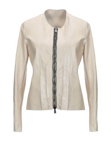 SIMONA TAGLIAFERRI Leather Jacket in Beige