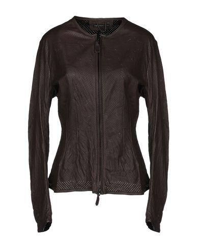 CHRISTIAN PEAU Jackets in Dark Brown