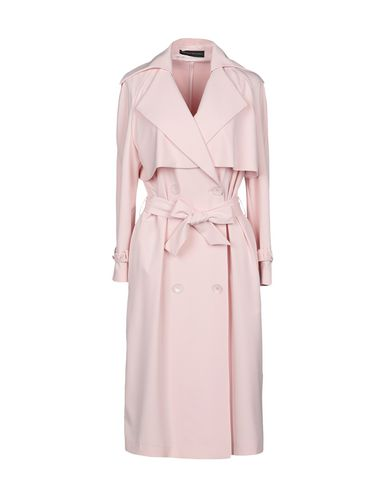 ALESSANDRO DELL'ACQUA Double Breasted Pea Coat in Light Pink