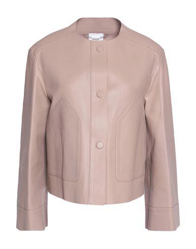 promo code cb74e 4bfad AGNONA Leather jacket - Coats & Jackets | YOOX.COM