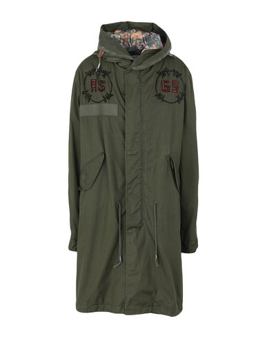 AS65 Coat in Military Green