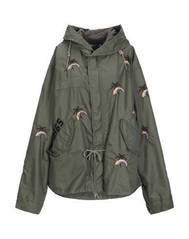 AS65 Jacket in Military Green