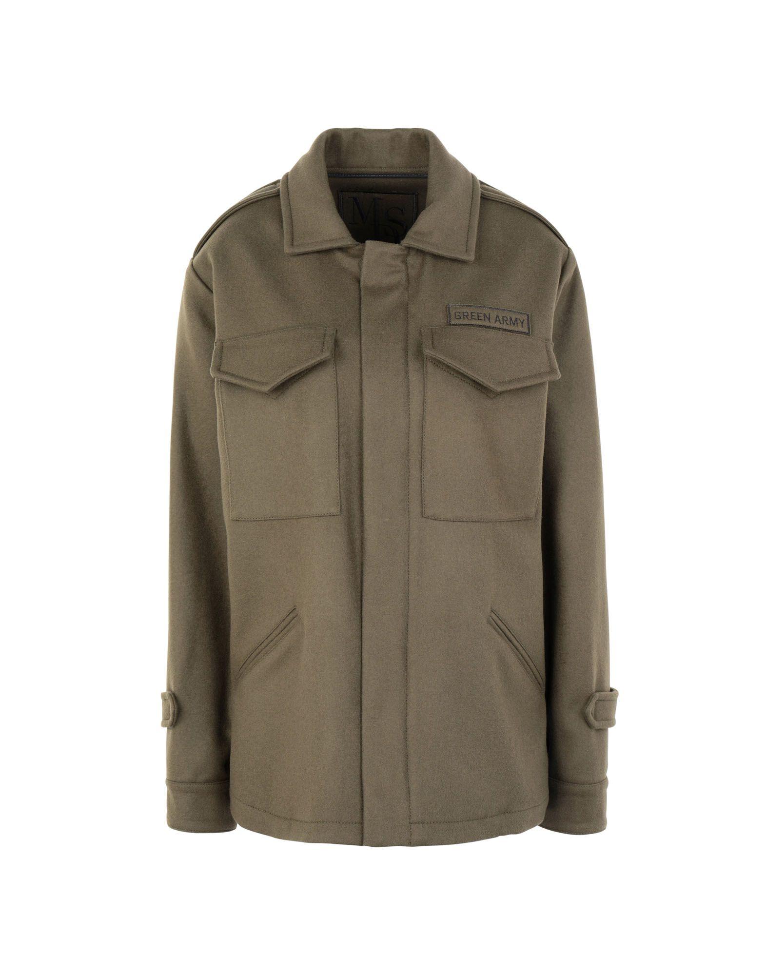 Giubbotto Mds verde Army donna - - 41852726TB  Designer online