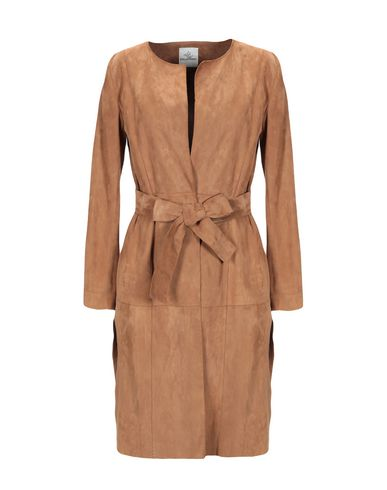 STELLA FOREST Full-Length Jacket in Camel