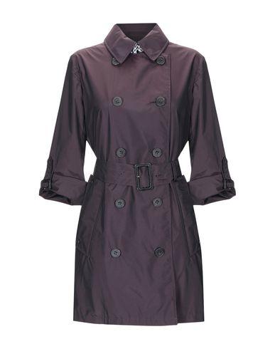 AQUASCUTUM Double Breasted Pea Coat in Deep Purple