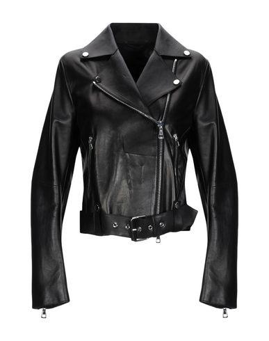 LIVEN Biker Jacket in Black