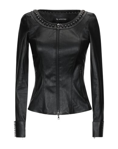 APHERO Biker Jacket in Black